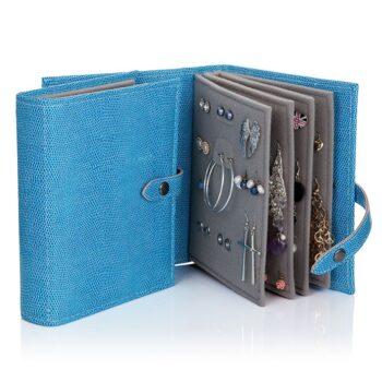 Little Book of Earrings, Blue Lizard