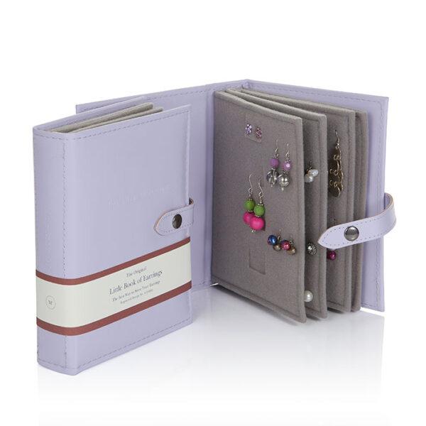 Little Book of Earrings, Lilac