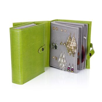 Little Book of Earrings, Lime Green