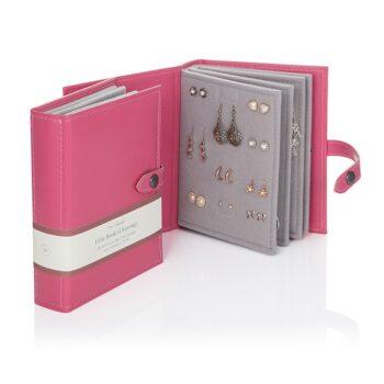 Little Book of Earrings, Pink